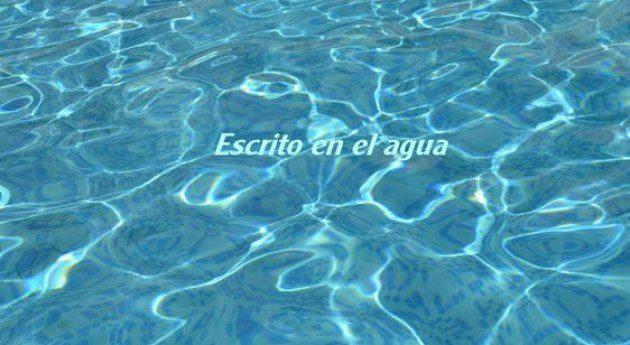 En este momento estás viendo En el agua