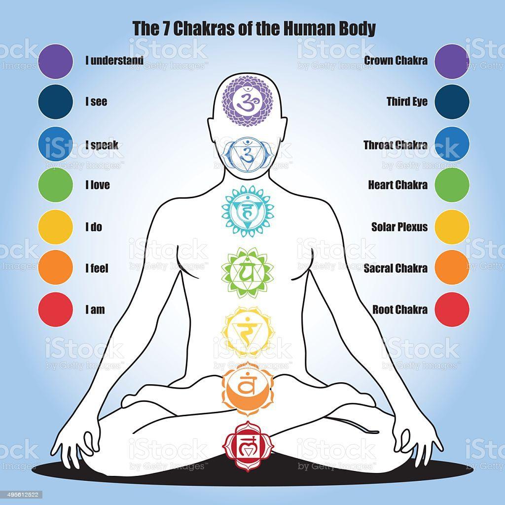 En este momento estás viendo Los siete chakras del cuerpo