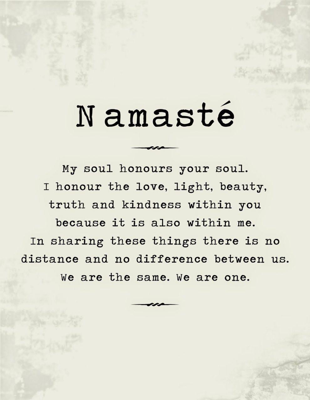 En este momento estás viendo Namaste meaning