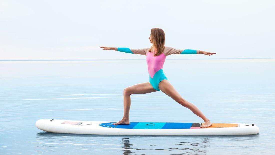 En este momento estás viendo Paddle yoga