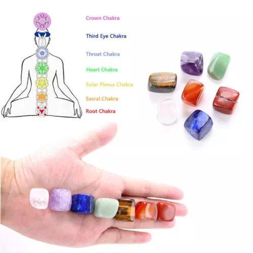 En este momento estás viendo Piedras de los 7 chakras