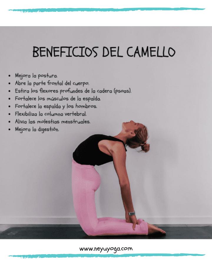 En este momento estás viendo Postura camello yoga