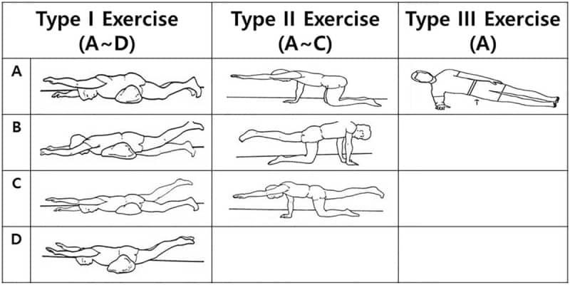En este momento estás viendo Tabla ejercicios escoliosis