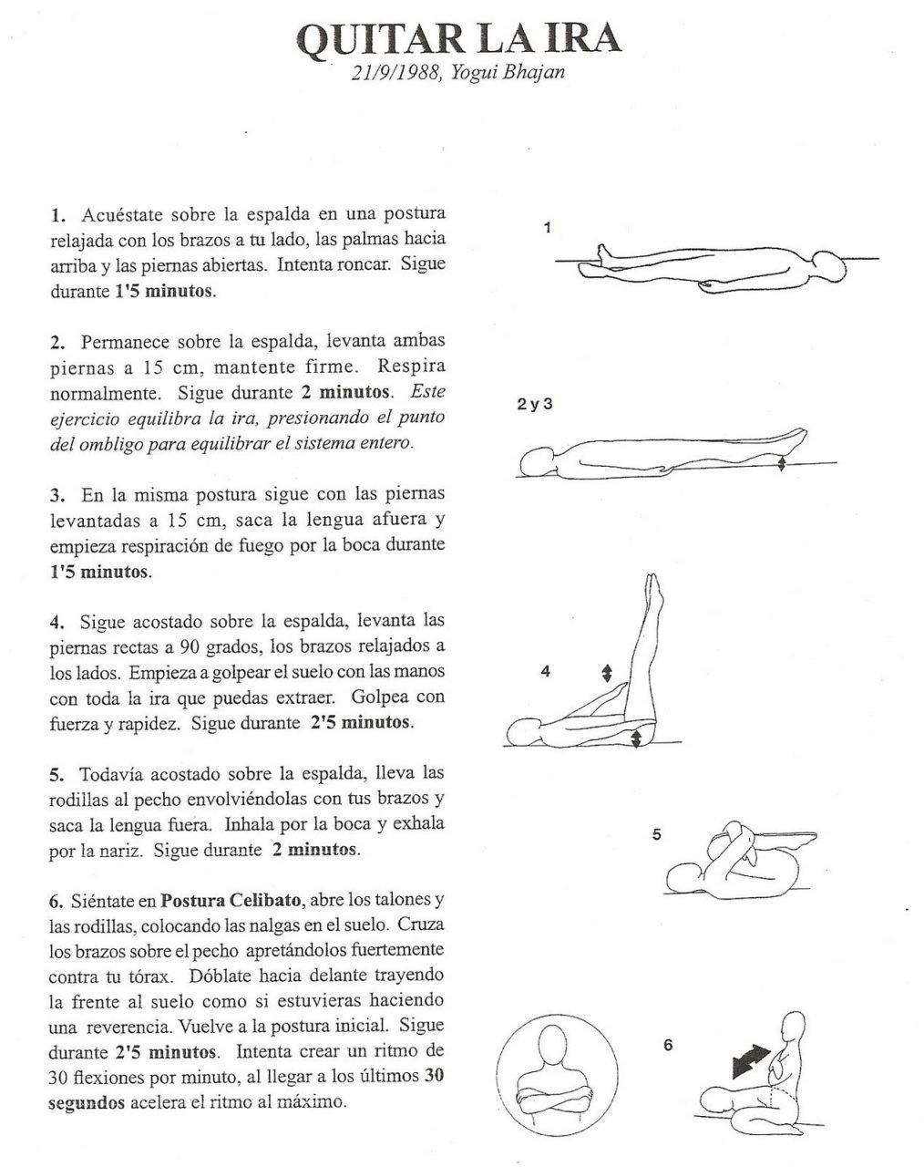 En este momento estás viendo Kundalini yoga kriyas en español