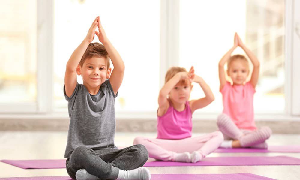 En este momento estás viendo Yoga con niños